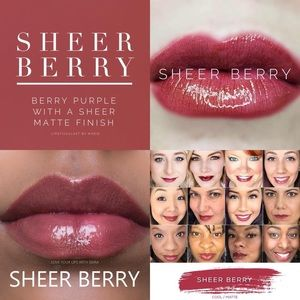 Sheer Berry Lipsense NWT